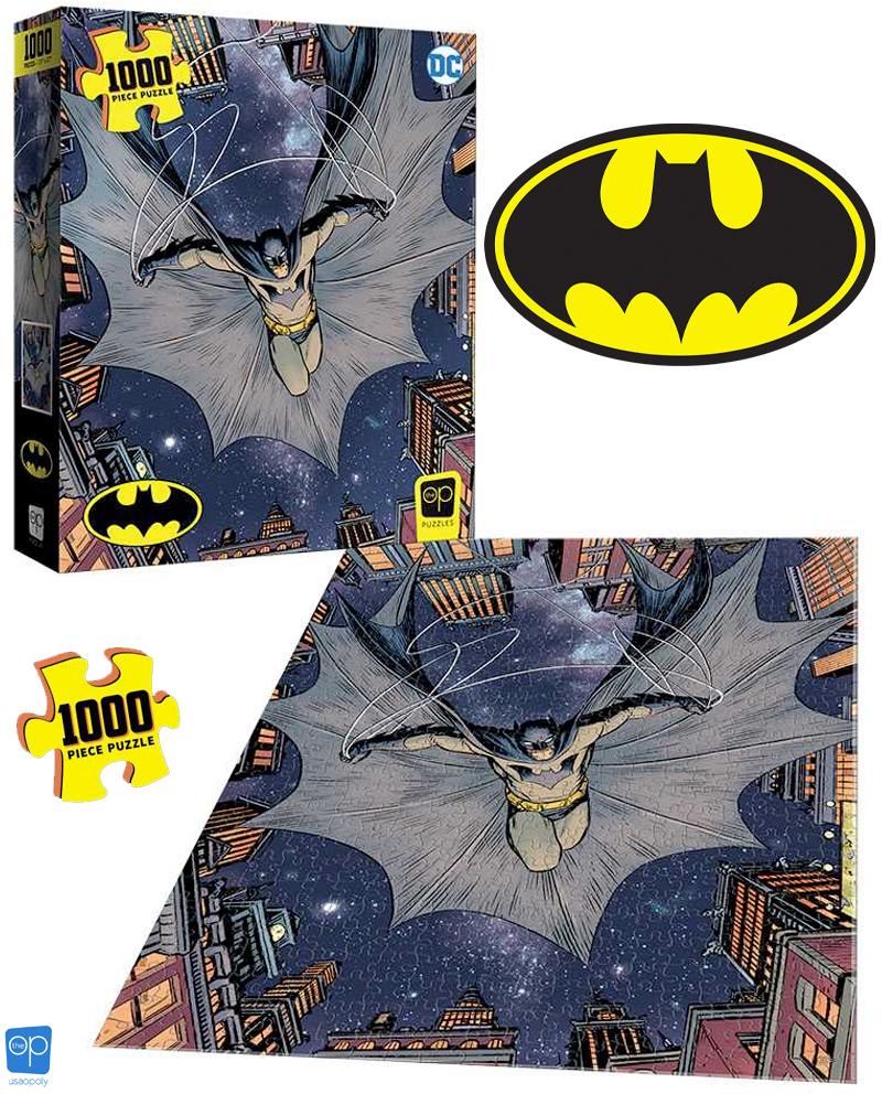 """Quebra-Cabeça Batman """"I Am The Night"""" com 1.000 Peças"""