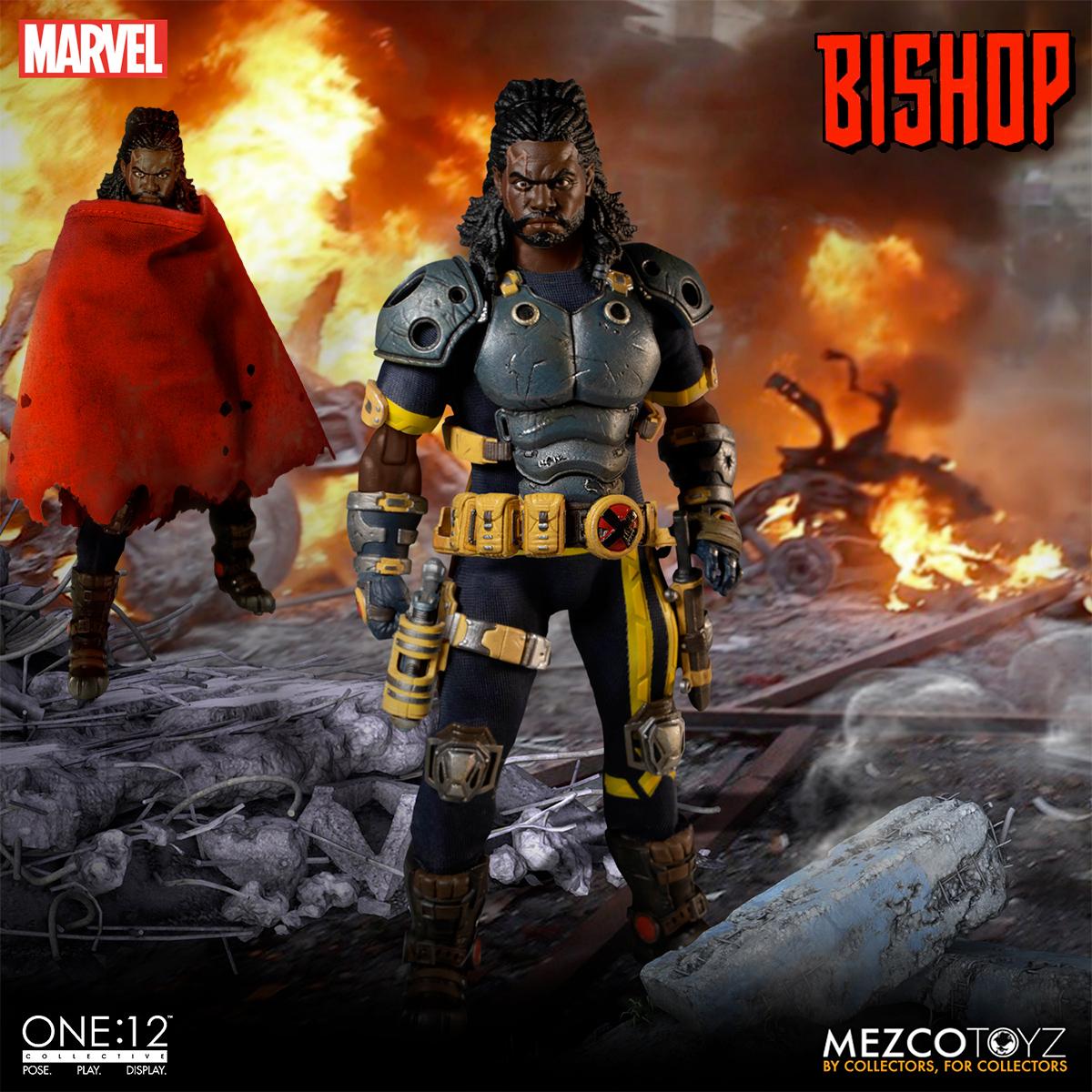 Action Figure Marvel Lucas Bishop One-12 Collective Mezco