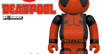 Bonecos Deadpool Be@rbricks (100% & 400%)