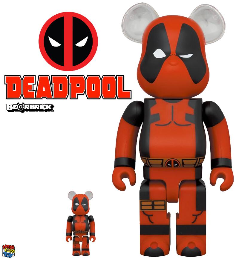 Bonecos Deadpool Bearbricks Medicom