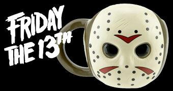 Caneca Máscara de Hockey de Jason Voorhees (Sexta-Feira 13)