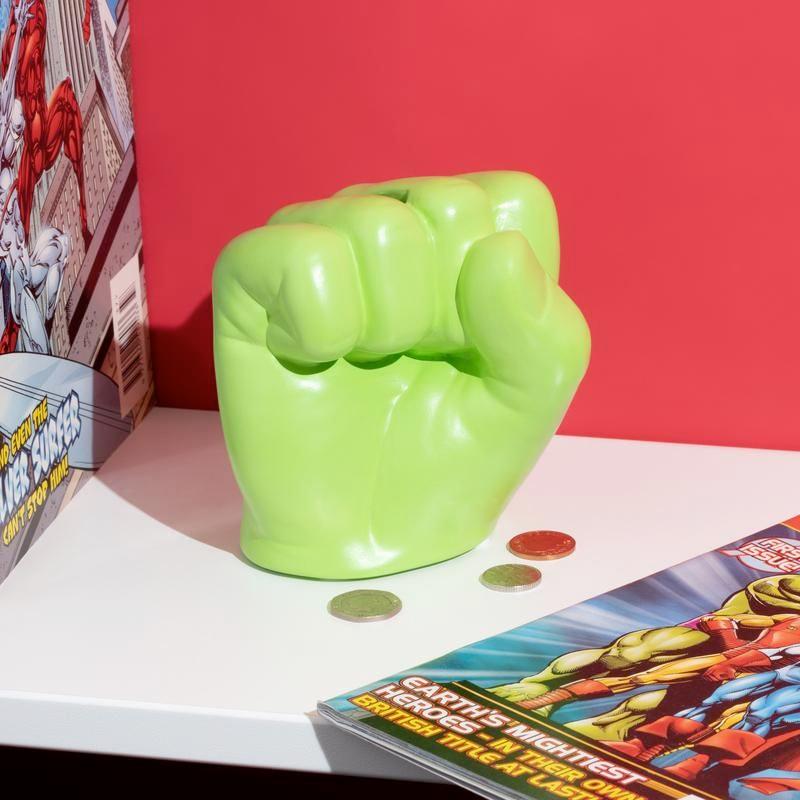 Cofre Hulk Fist Marvel Money Box