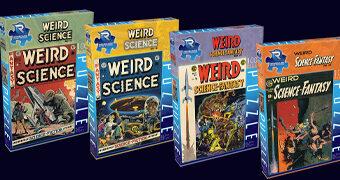 Quebra-Cabeças Weird Science EC Comics – Revista em Quadrinhos Sci-Fi dos Anos 50