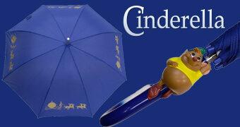 Guarda-Chuva Cinderella com Ratinho Tatá no Cabo (Disney)