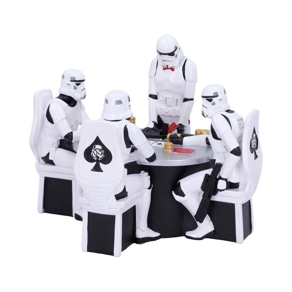Stormtroopers Jogando Pôquer - Estátua Diorama Star Wars