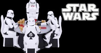 Stormtroopers Jogando Pôquer – Estátua Diorama Star Wars