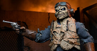 Aces High Eddie (Iron Maiden) – Action Figure Retro Neca Clothed
