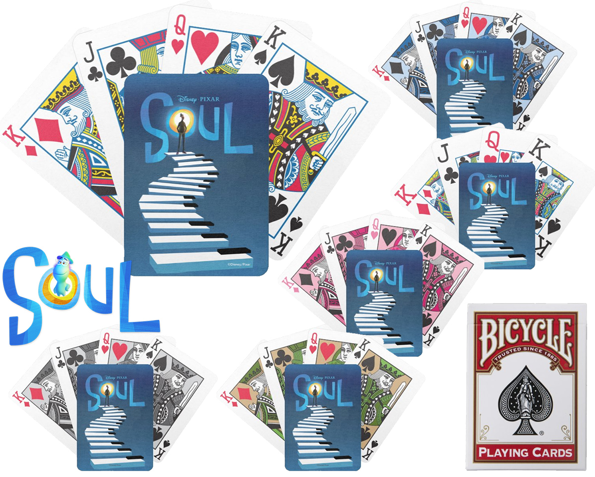 Baralho Soul Theatrical Art Bicycle Playing Cards