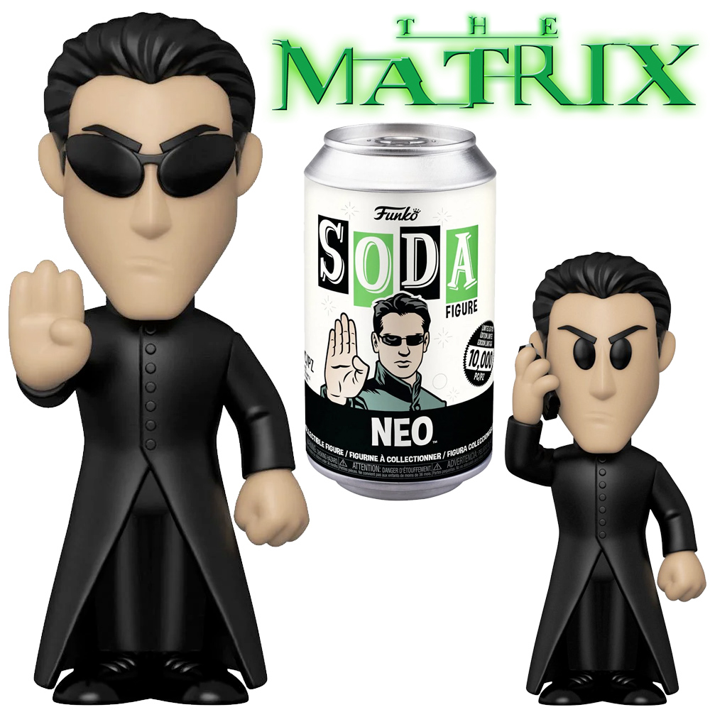 Boneco Funko Vinyl SODA The Matrix Neo