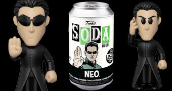 Boneco Funko Vinyl SODA The Matrix Neo (Keanu Reeves)