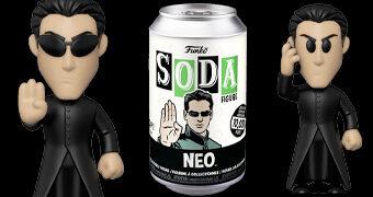 Boneco Funko Vinyl SODA The Matrix Neo (Keanu Reeves)