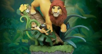 O Rei Leão Hakuna Matata D-Stage Estátua/Diorama 360 Graus da Beast Kingdom