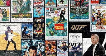 Quebra-Cabeças James Bond 007: Todos os 25 Filmes e Todos os Atores