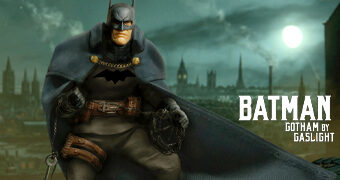Action Figure Batman: Gotham by Gaslight One:12 Collective da Mezco