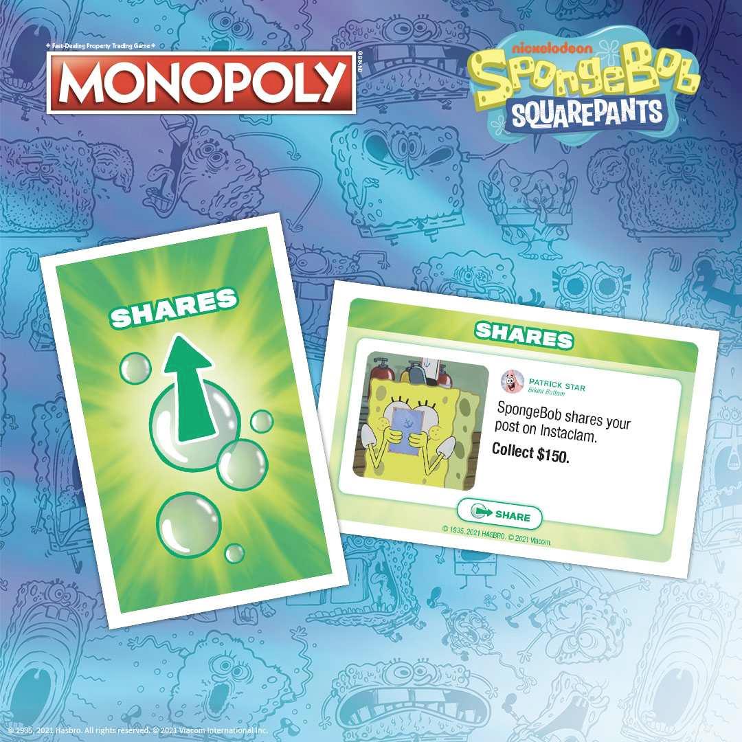 Jogo Monopoly Bob Esponja Calça Quadrada