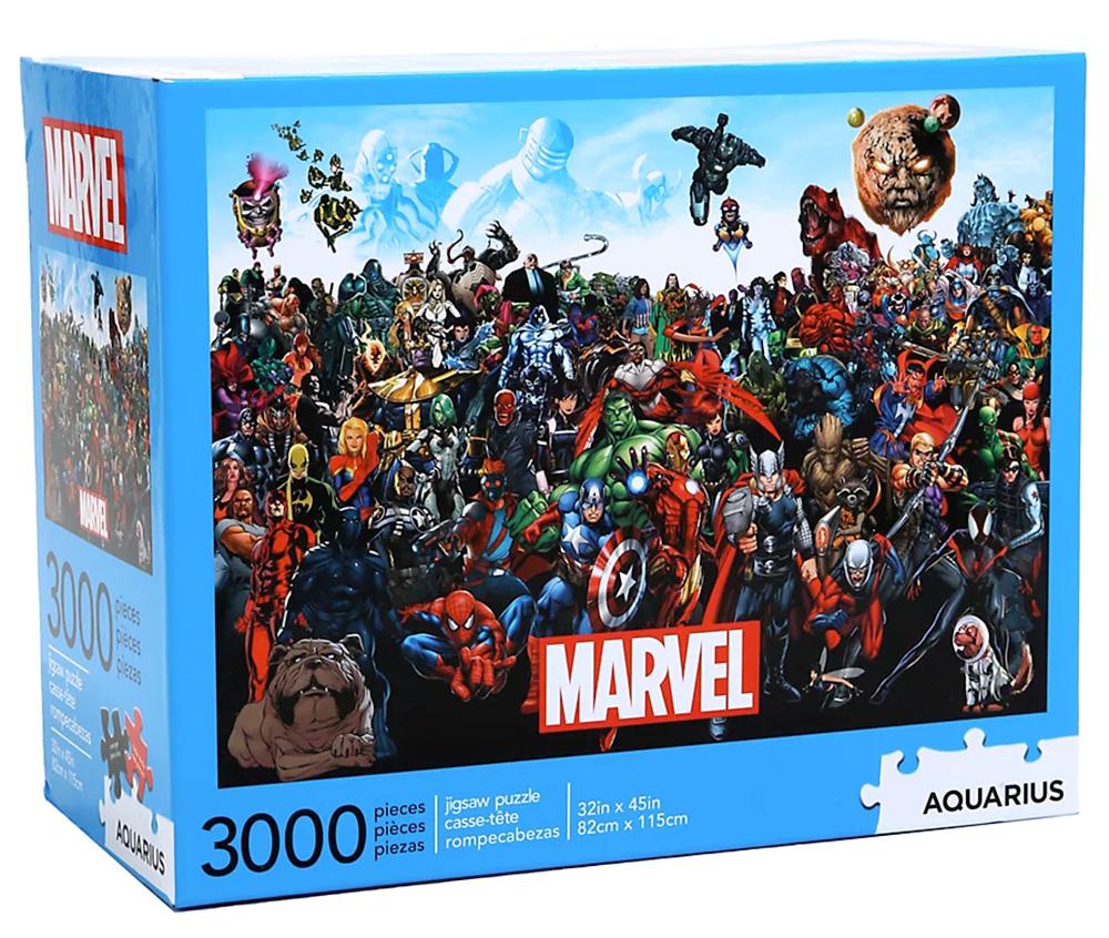 Quebra-Cabeça Marvel Comics Cast 3,000-Piece Puzzle