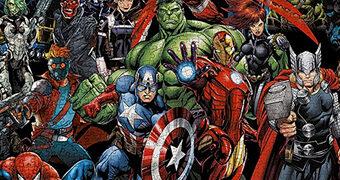Quebra-Cabeça Marvel Comics Cast com 3.000 Peças