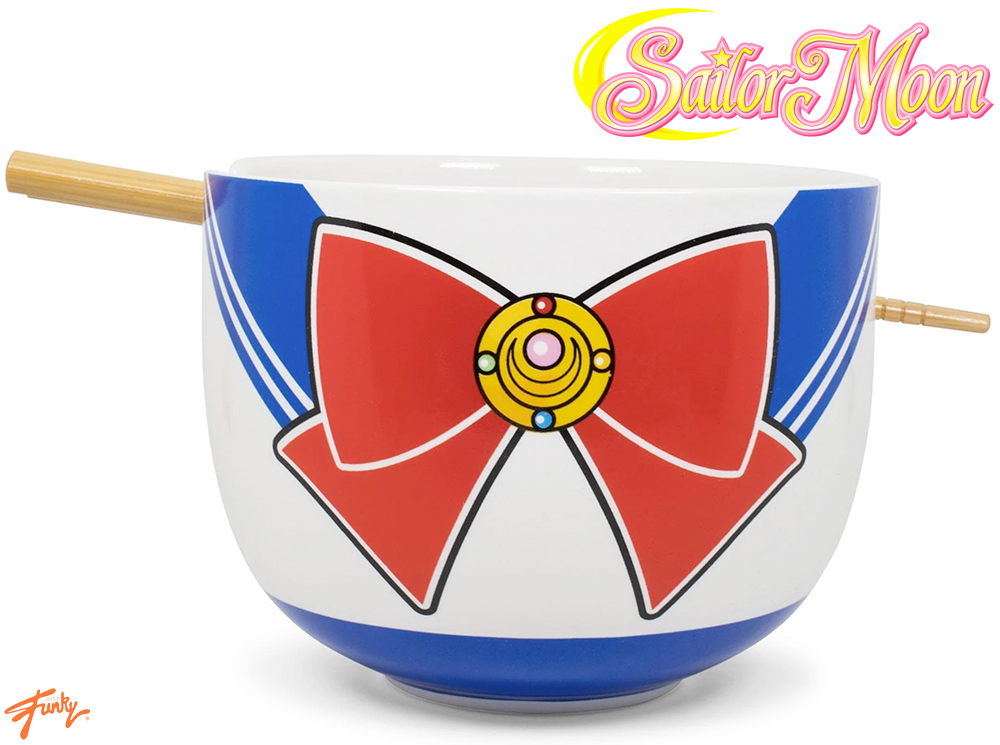 Tigela Sailor Moon Japanese Ramen Bowl