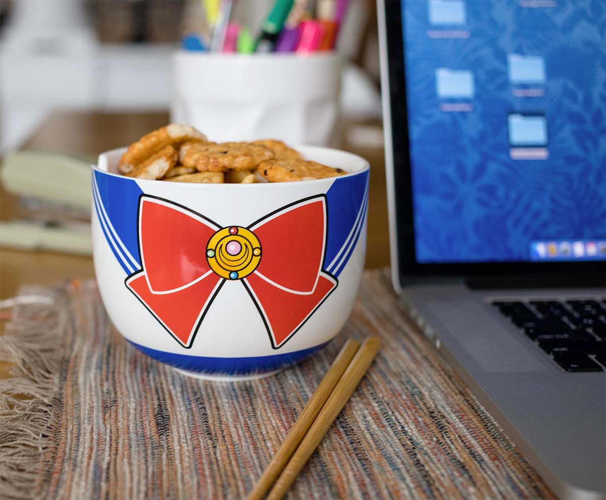 Tigela Sailor Moon Japanese Ramen Bowl