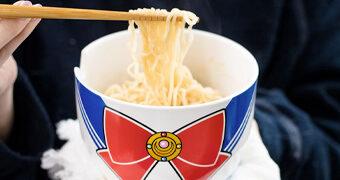 Tigela Sailor Moon Ramen com Hashis