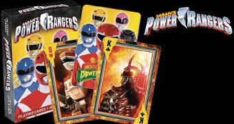 Baralho Mighty Morphin Power Rangers
