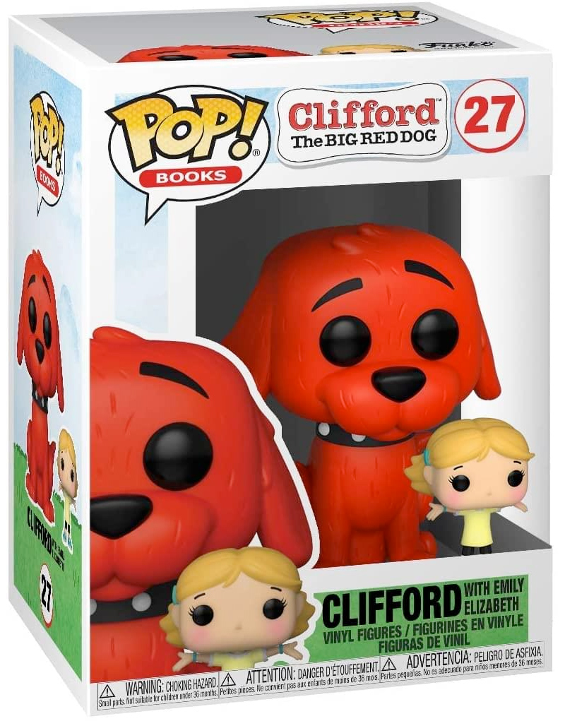 Bonecos Funko Pop Clifford Gigante Cao Vermelho