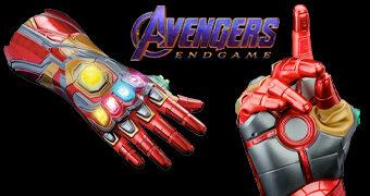 Réplica Eletrônica Manopla Iron Man com as Joias do Infinito com Luzes e Sons