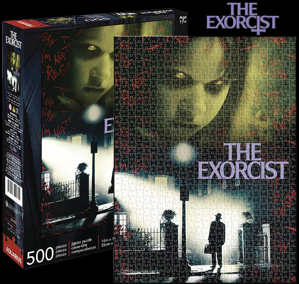 Quebra-Cabeça do Clássico Filme O Exorcista de 1973 com 500 Peças