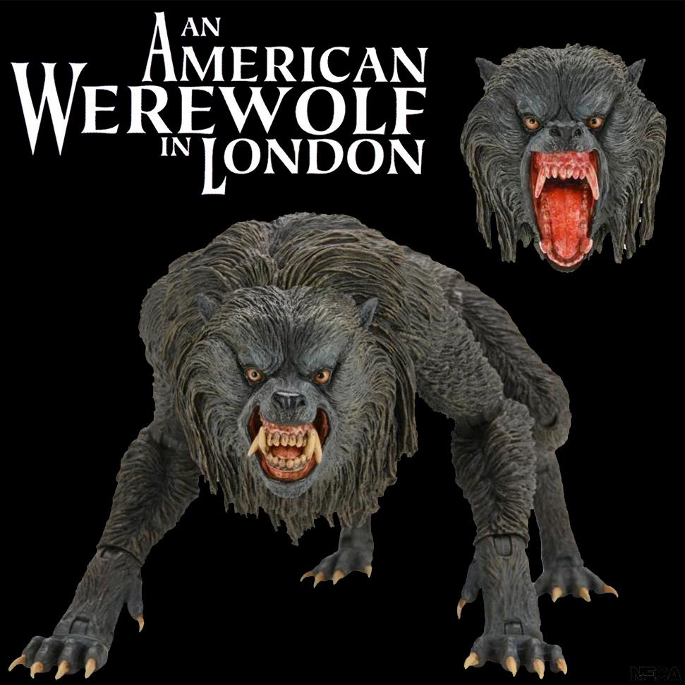 Lobisomem Kessler Action Figure Neca Ultimate de Um Lobisomem Americano em Londres