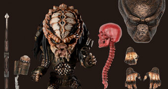 Boneco Predator 2: Deluxe City Hunter Mezco Designer Series