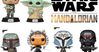 Bonecos Pop! Star Wars: The Mandalorian (2021)