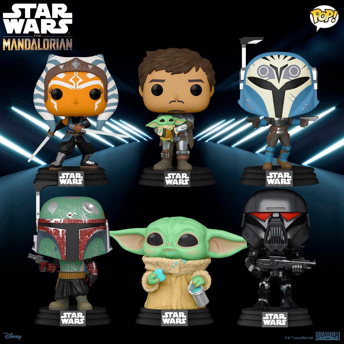 Bonecos Pop Star Wars The Mandalorian 2021-Funko