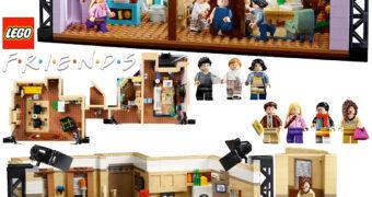 """LEGO Friends """"Aquele com os Apartamentos de Monica/Rachel e Chandler/Joey"""" com 2 Mil Blocos"""