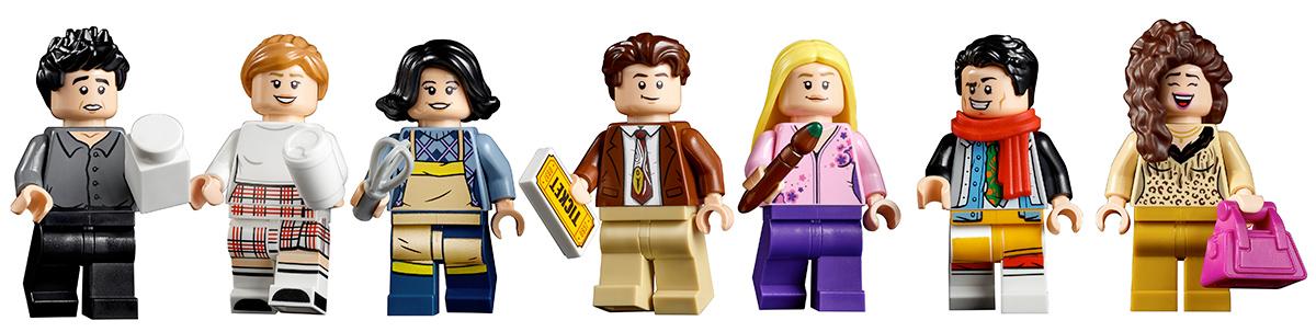 LEGO Friends Sitcom The Friends Apartments