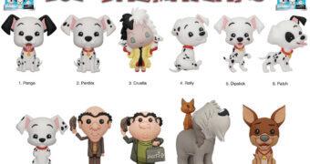 Chaveiros 101 Dálmatas Disney 3D Figural Bag Clip (Blind-Bag)