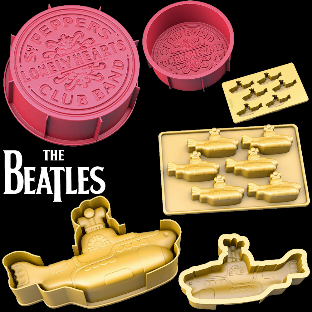 Formas de Bolo The Beatles: Sergeant Pepper e Yellow Submarine