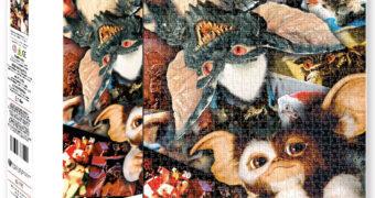 Quebra-Cabeça Gremlins Colagem com 500 Peças