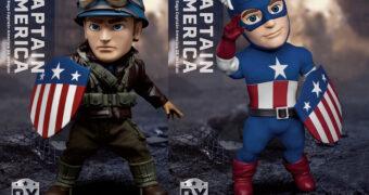 Action Figure Capitão América, oPrimeiro Vingador Egg Attack Action (Marvel Infinity Saga)