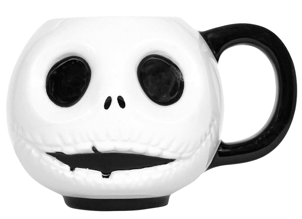 Canecas NBX Jack Skellington Expression Emoji Mugs 4-Pack