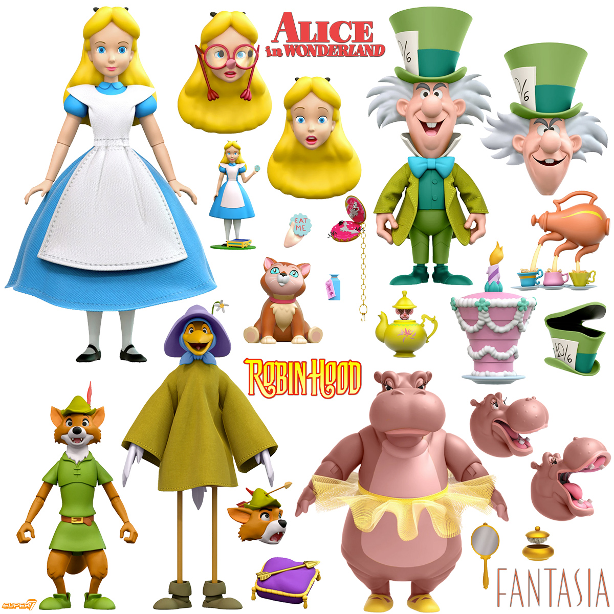 Action Figures Ultimates Disney Classic Animations 2 Super7