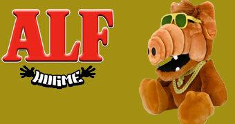 Boneco de Pelúcia ALF, O ETeimoso HugMe Vibra e Treme (Kidrobot)