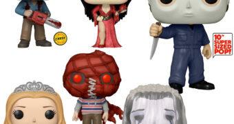 Bonecos Pop! Funkoween: Michael Myers, Evil Dead, Carrie, Elvira, Brightburn e La Llorona