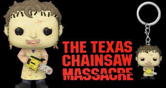 O Massacre da Serra Elétrica Funkoween: Boneco e Chaveiro Leatherface Pop!