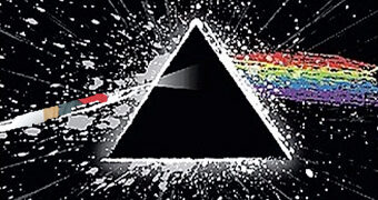 Cobertor de Lance Pink Floyd Dark Side Of The Moon