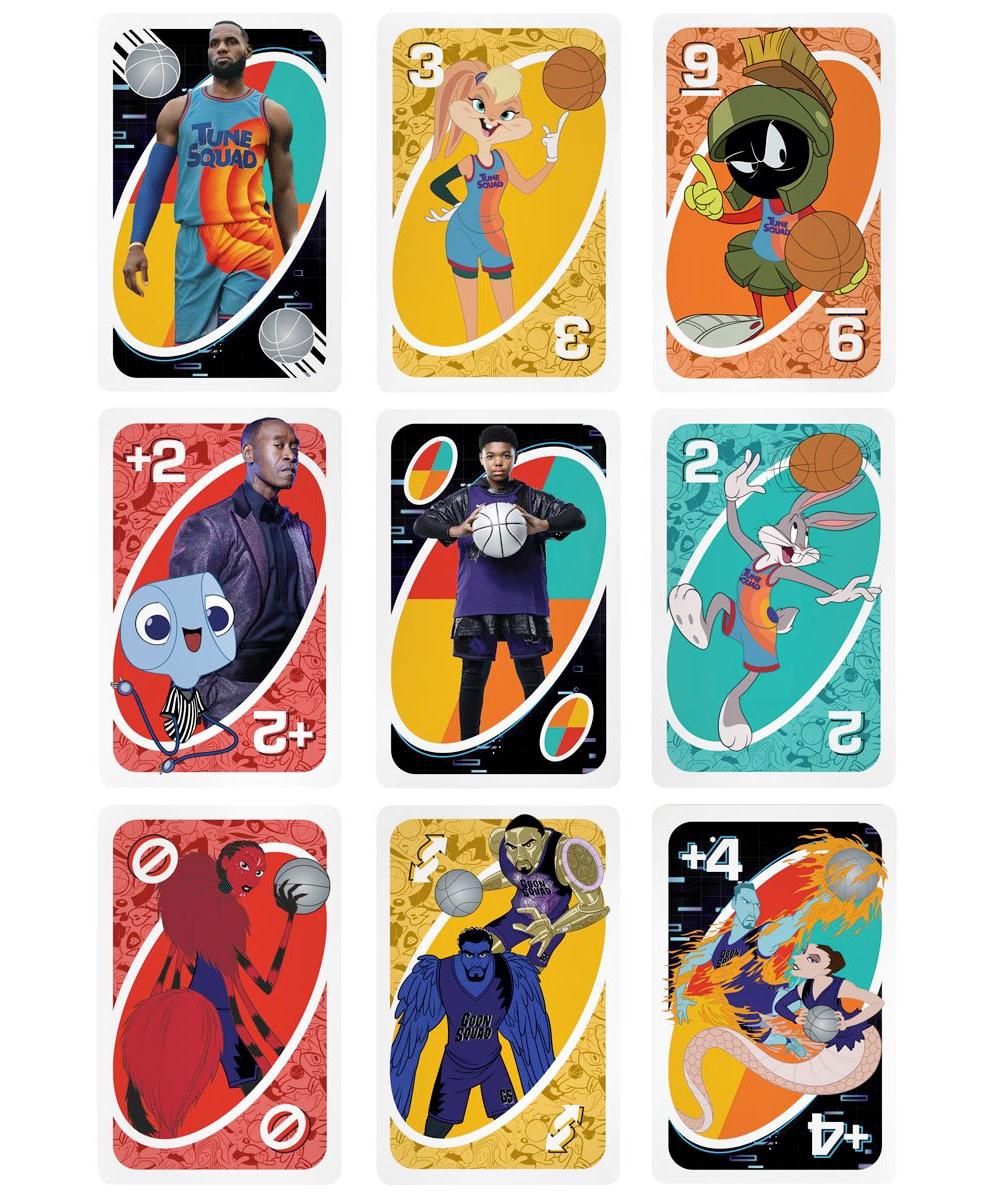Jogo de Cartas UNO Space Jam 2: Um Novo Legado