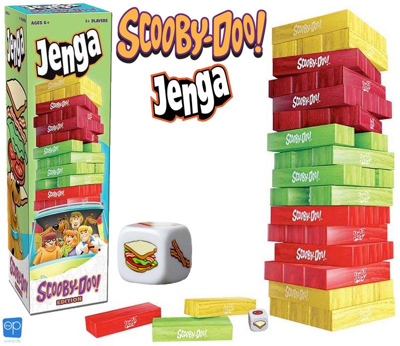 Jogo JENGA: Scooby-Doo