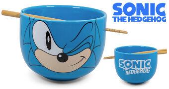 Tigela Sonic the Hedgehog Ramen com Hashis (Sega)