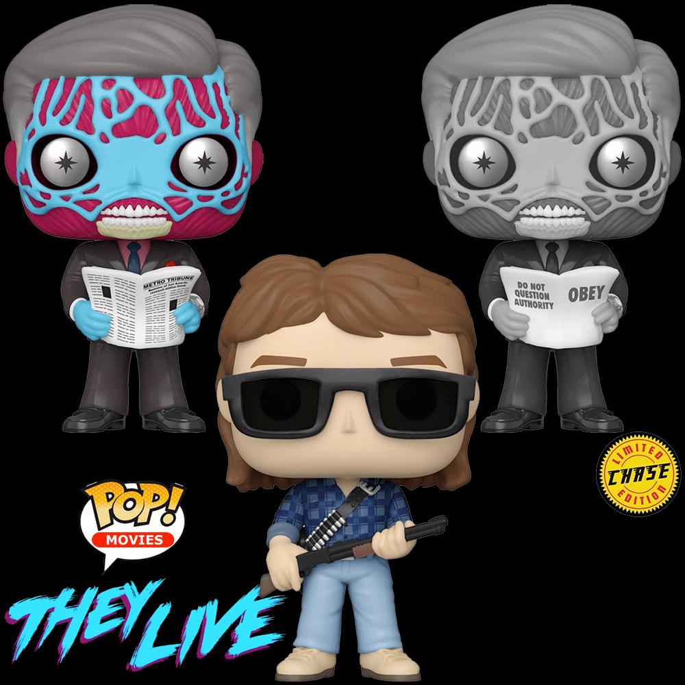 Bonecos Pop! do Filme They Live (Eles Vivem) de John Carpenter