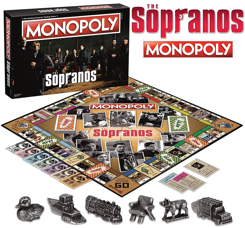 Jogo Monopoly Família Soprano