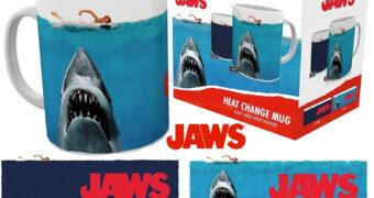 Tubarão (Jaws) Caneca de Calor Reativa com Tubarão-Branco Bruce
